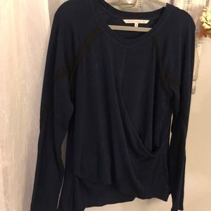 Rachel Roy faux wrap sweater